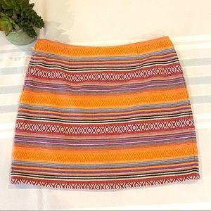 Ladakh Tribal Woven Skirt Southwestern NWOT Sz 4